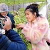 松本城とタイの女優ヌーナさん